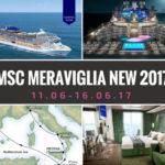 NEW MSC Meraviglia — июнь 2017 г. вместе с FIVE STARS TRAVEL AGENCY